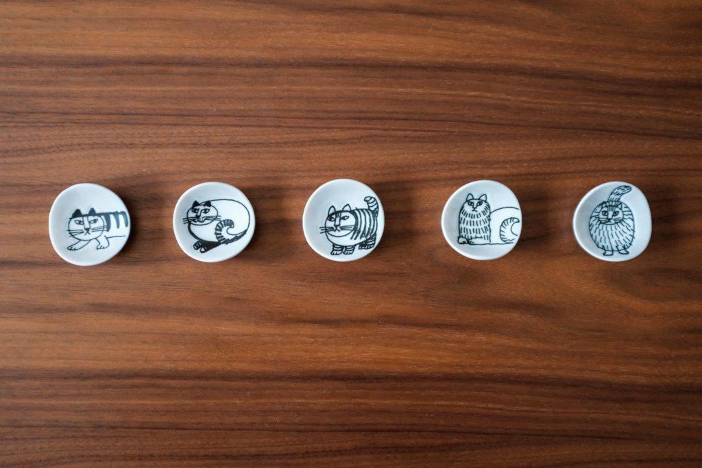 結婚式の引き出物やお祝い返しに。猫のデザインがかわいい『リサ・ラーソン Sketch Series 箸置き』がおすすめ