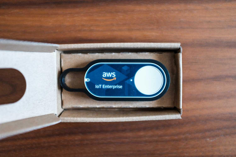 AWS IoT Enterprise Button開封