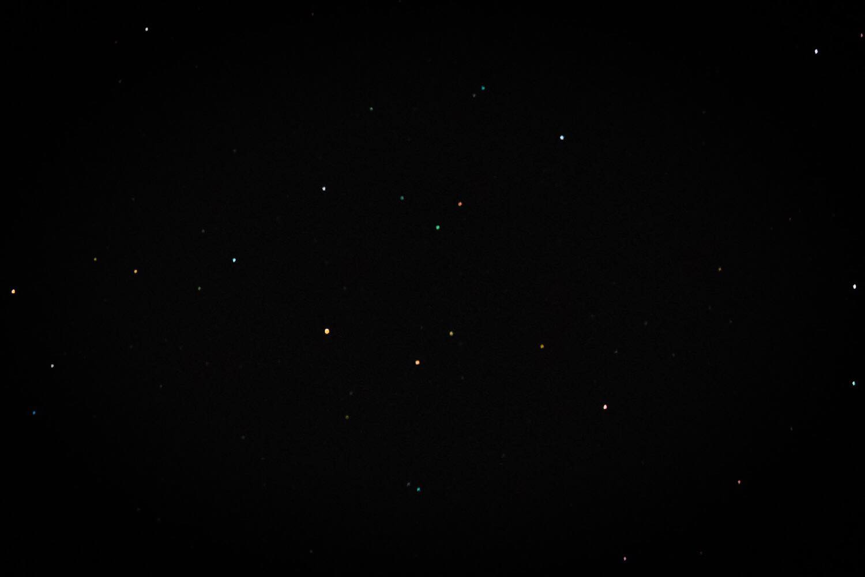 X100Fで撮影した星空