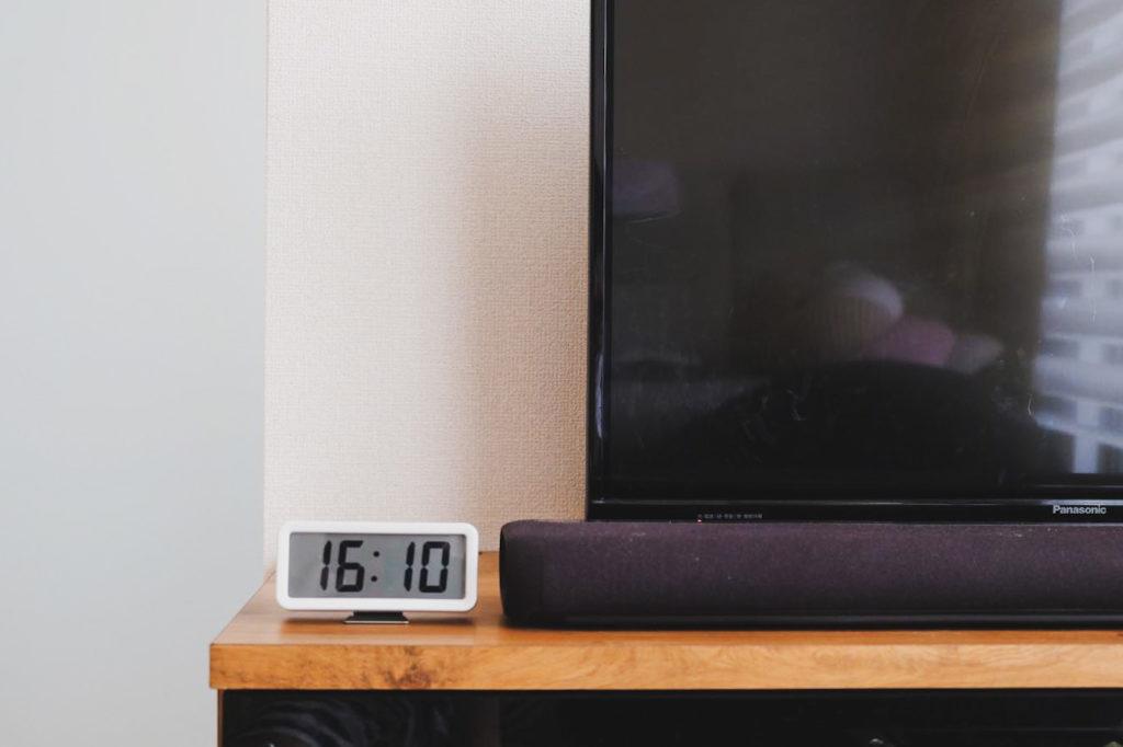 無印良品のデジタル時計(小)をおすすめできるポイント